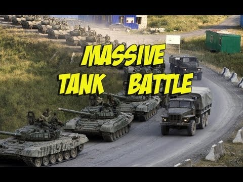 Wargame Airland Battle — Massive tank fight