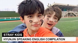 STRAY KIDS' HYUNJIN SPEAKING ENGLISH | Pt. 1