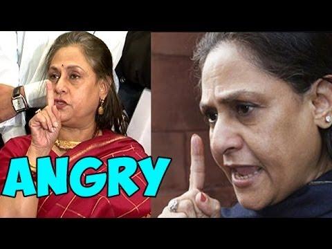 Jaya Bachchan LOSES her TEMPER