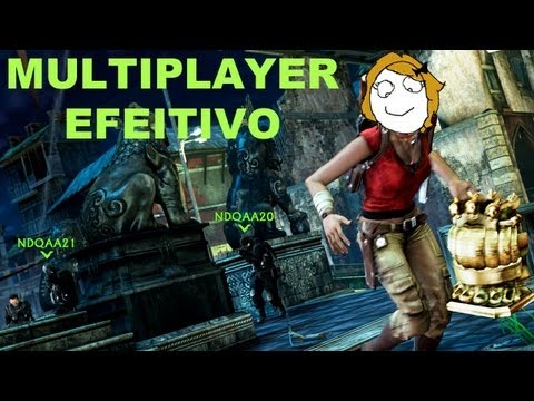 [Uncharted 2 Multiplayer #1]Efeitividade-GamerPlayer