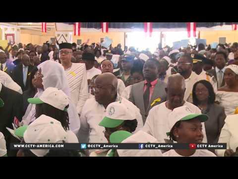 Liberians celebrate end of Ebola