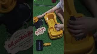 Hướng dẫn cách lắp xe cẩu chòi chân cho bé