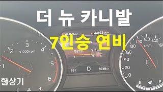 기아 더 뉴 카니발 2.2 디젤 7인승 정속주행 연비(2019 Kia Sedona R2.2 Fuel Economy) - 2018.06.08