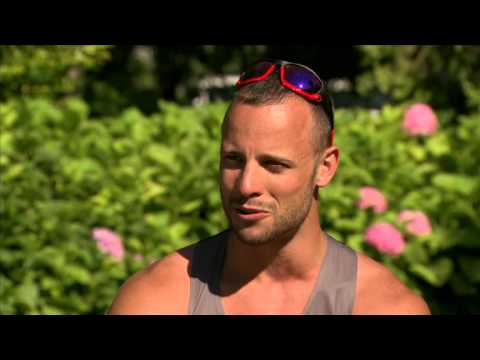 Blade Runner Oscar Pistorius Interview - Qualifying for the 2012 London Olympics and Paralympics