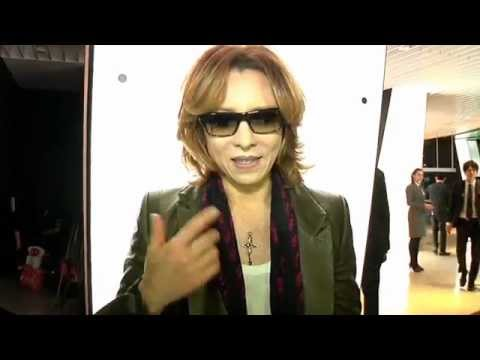 Yoshiki salutes the Globes' 70th anniversary