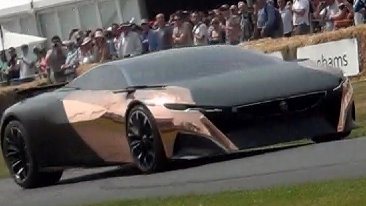 Peugeot Onyx Supercar Concept Goodwood Festival Of Speed