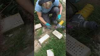 How to clean bricks for reuse