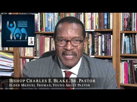 BISHOP CHARLES E. BLAKE SHARES HIS HEART WITH OUR COLLEGE STUDENTS!