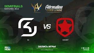 SK vs Gambit - Adrenaline Cyber League - map3 - de_mirage [Enkanis, CrystalMay]