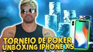 TORNEIO DE POKER E UNBOXING IPHONE XS    VLOG 118