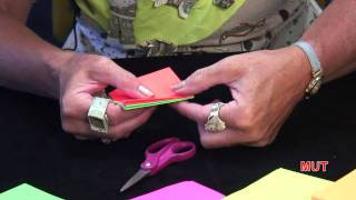 4. How To Make A Volcano For Kids By The Origami Lady
