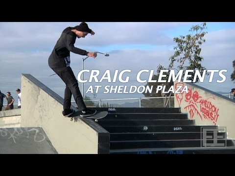 Craig Clements at Sheldon Plaza