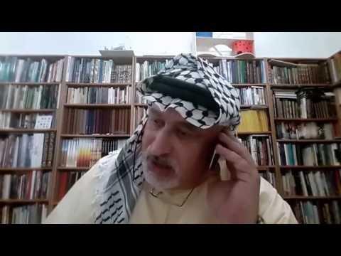 Prof. Norman Khalaf Interview Radio 24 FM Palestine  Part 1  د نورمان خلف لقاء راديو 24 أف إم فلسطين