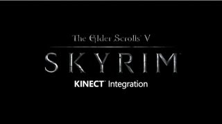 Kinect Support Coming to Skyrim