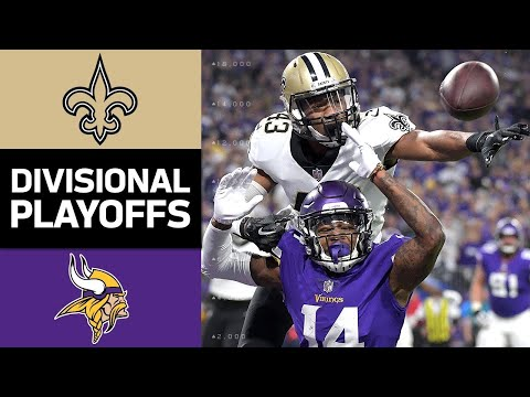 The New Orleans Saints take on the Minnesota Vikings during the Divisional Round of the 2017 NFL Postseason. Watch full games with NFL Game Pass: https://www.nfl.com/gamepass?campaign=sp-nf-gd-ot-...