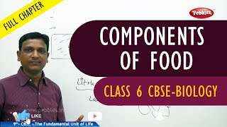 COMPONENTS OF FOOD full chapter | Biology | Class 6 | CBSE Syllabus