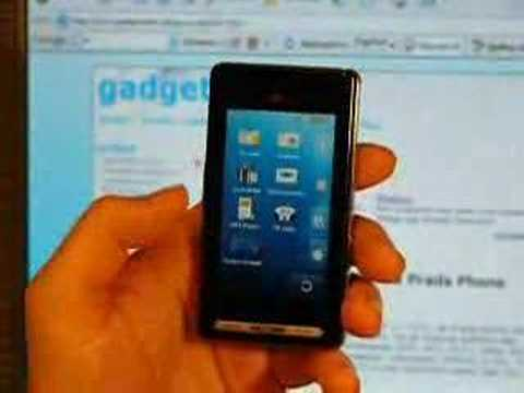 Preview Prada Phone LG KE850 Video