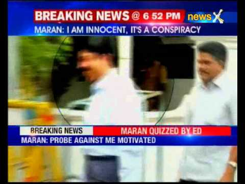 Former Telecom Minister Dayanidhi Maran questioned for second day by CBI