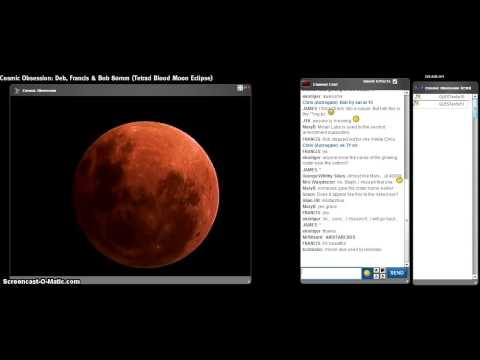 Tetrad Blood Moon PT7 Lunar Eclipse from COsmic Obsession Observatory