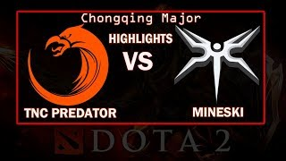 TNC Predator vs Mineski Chongqing Major Dota 2 Highlights