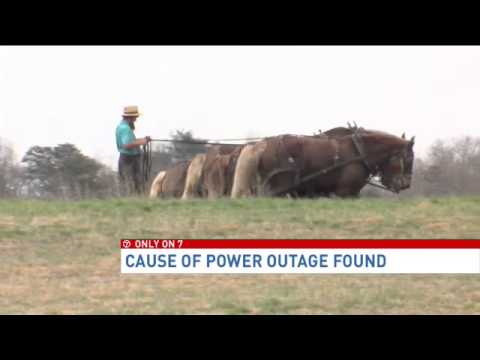 Transformer explosion caused electric grid surge,...