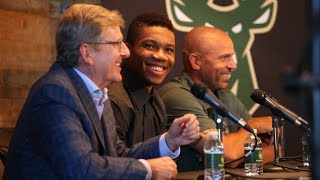 Giannis Antetokounmpo Contract Extension Press Conference [FULL VIDEO]