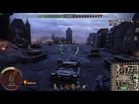 World of Tanks PS4 - Chieftain Mk6. Master + 7.5k DMG