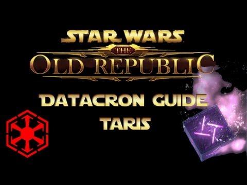 SWTOR Datacron Guide Taris Empire