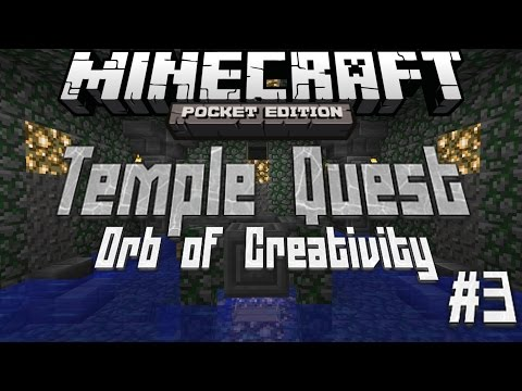 Temple Quest: The Orb of Creativity MCPE Adventure Map Part 3