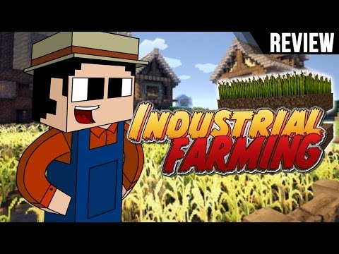 Minecraft PC: Review Industrial Farming Mod para 1.6.2 y 1.6.4 I Español I
