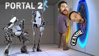 TOO MANY HOLES - Portal 2 Gameplay Part 2