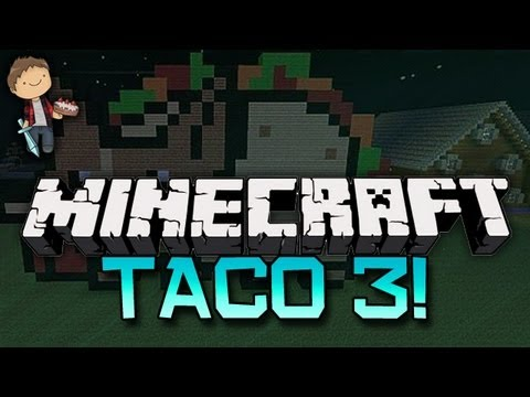 Minecraft: THE TACO UPRISING: Abducted by the Taco 3 w/Mitch & Friends! Part 2 of 2!