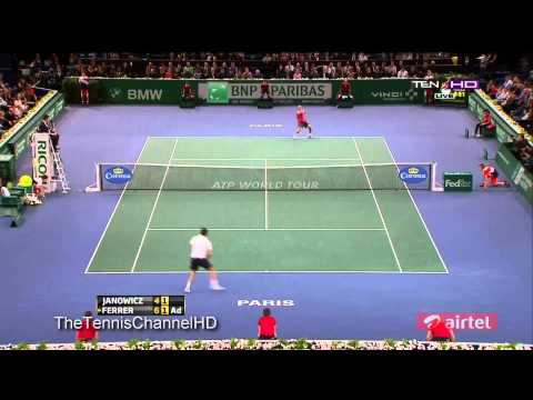 [Paris Bercy 2012] Highlights Jerzy Janowicz Vs David Ferrer Final
