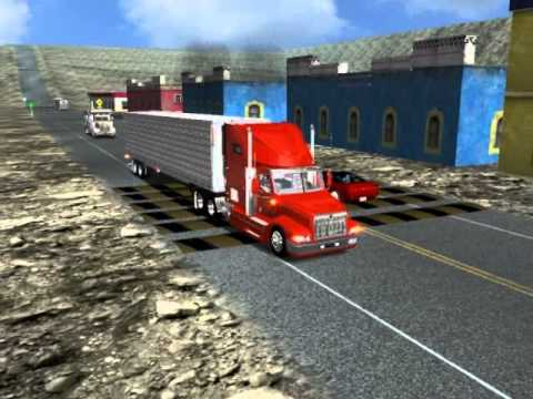 18 wheels of steel haulin international 9400