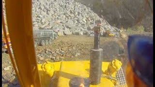 RC LIEBHERR BULLDOZER 741! COOL RC MACHINE! FANTASTIC RC MODELS AT THE CONSTRUCTION SITE
