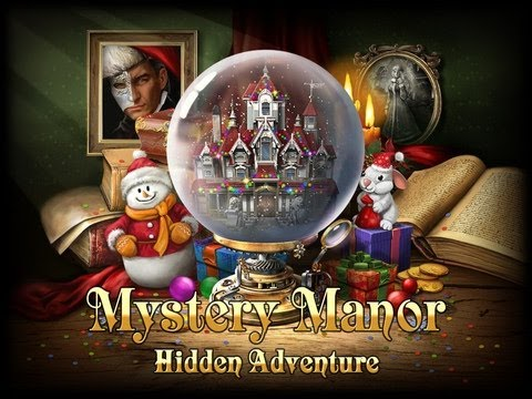 Mystery Manor: Hidden Adventure App Review for iPad/iPad2
