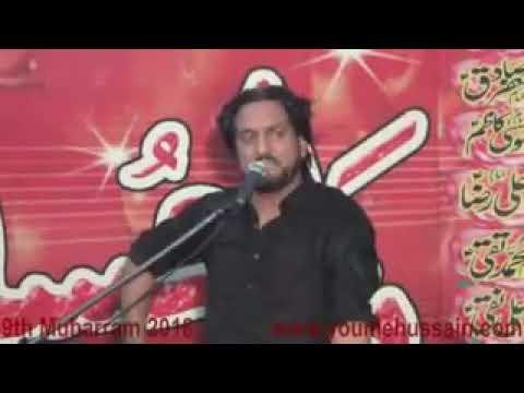 Ashara Muharam 2018 | 9 Muharam | Zakir Iqbal Shah Bujarwala | Umarwali | Shahdat Shazada Ali Akbar
