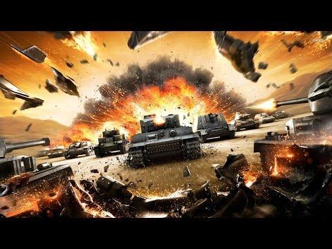 GamePlay По-Русски играем в world of tanks