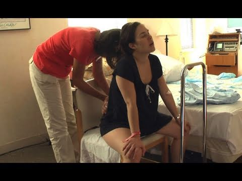 Natural Childbirth Scenes - Part 1, Labor video