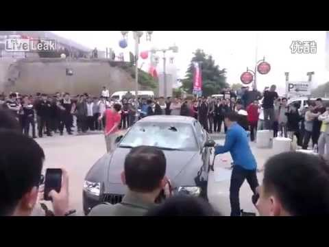 Maserati Destroyed in China