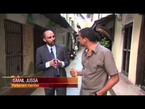 CNN Errol Barnett Inside Africa - Zanzibar edition Part 1