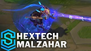 Hextech Malzahar Skin Spotlight - League of Legends