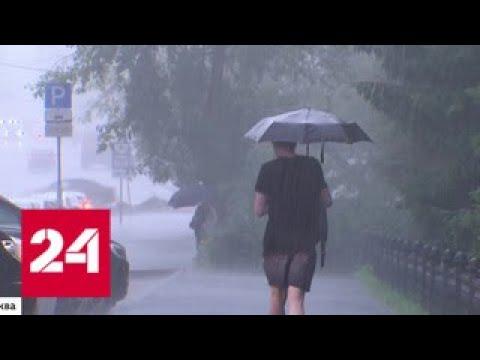 Московская погода явила жителям Балтийский синдром - Россия 24