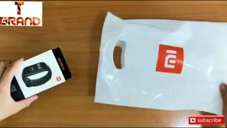 Mi Band 4 unboxing and hand's on review by Technical Brand 🔥🔥🤩