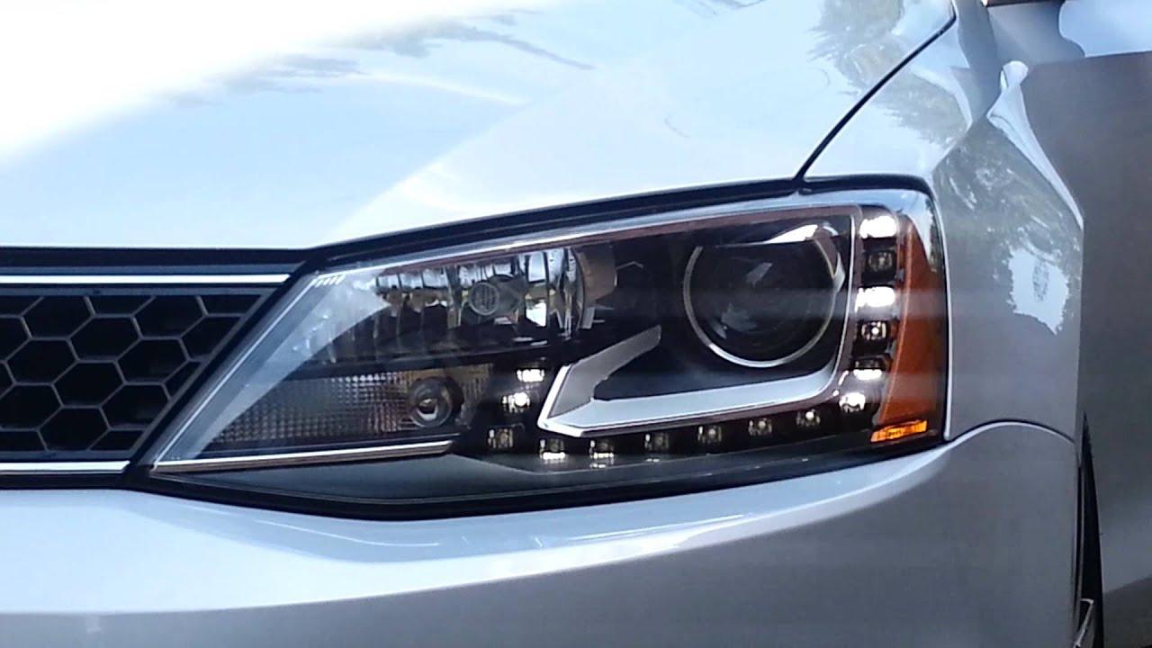 2012 Volkswagen Jetta Gli >> 2013 Volkswagen gli Bi-xenon headlight - YouTube