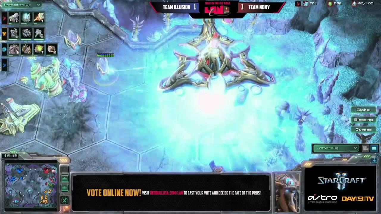 Team Illusion vs Team NonY G3 Red Bull 4A