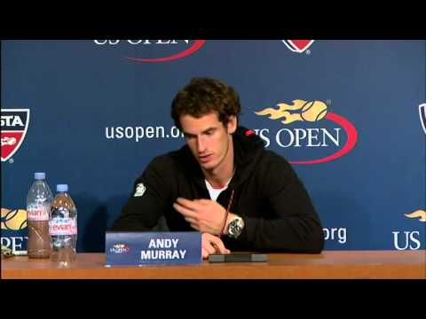 Andy Murray Discusses US Open Win Against Raonic