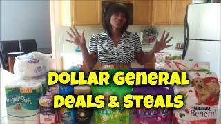 Dollar General Deals & Steals