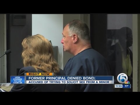 Former Principal Arrested In Underage Sex Sting video