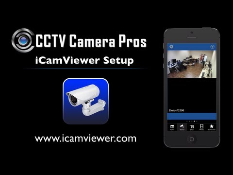 iCamViewer IP Camera Viewer iPhone App Remote Internet View Setup